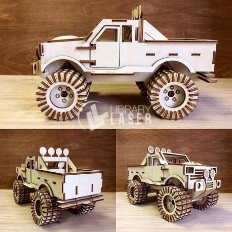 Monster Truck Diseño