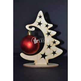 Christmas tree sphere Design