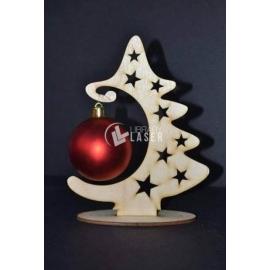 Christmas tree sphere Design