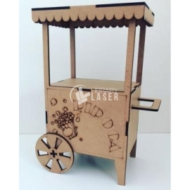 Popcorn cart Design