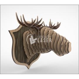 Diseño búfalo 3d