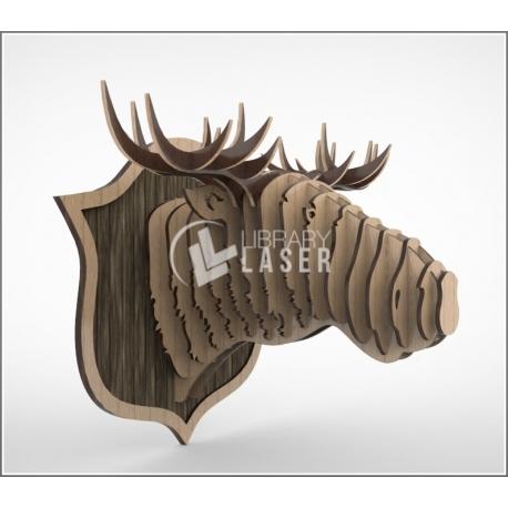 3d buffalo design