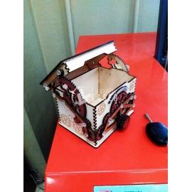 Caja con cerradura Diseño