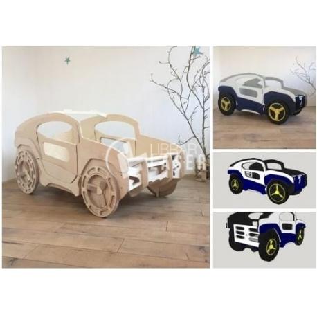 Cama coche Diseño
