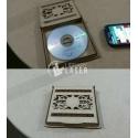 Estuche CD matrimonio Diseño