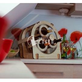 Caja con engranajes Diseño