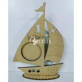 Portaretrato barco Diseño