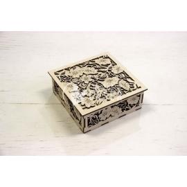 Caja flores Diseño