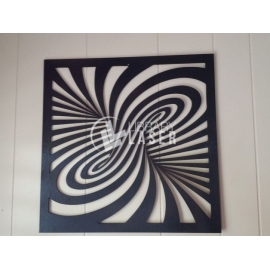 Diseño Laser cut Twirl