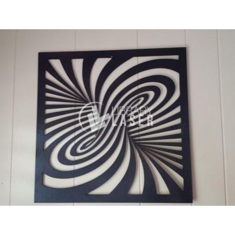 Design Laser Cut Twirl