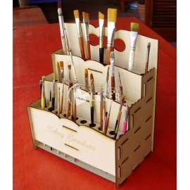 Brushes organizer Design