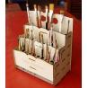 Organizador de pinceles Diseño
