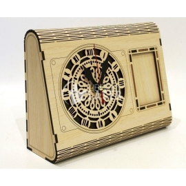 Box clock Design