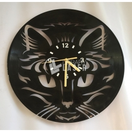 Cat face clock Design