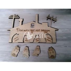Cats Keychain Design