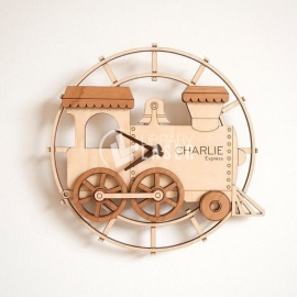 Reloj tren Diseño
