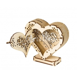 Heart Piggy banck Design