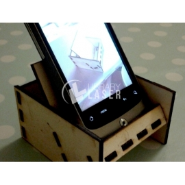 Support for mobile phone file - Phone stand dxf