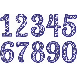 Simple numbers design