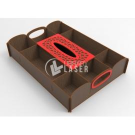Caja de cubiertos diseño