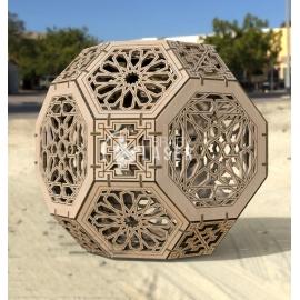 Cubo geométrico diseño