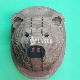 Bear Head Design