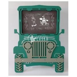 Jeep portrait frame Design