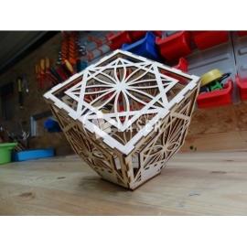 Lámpara cubo diseño