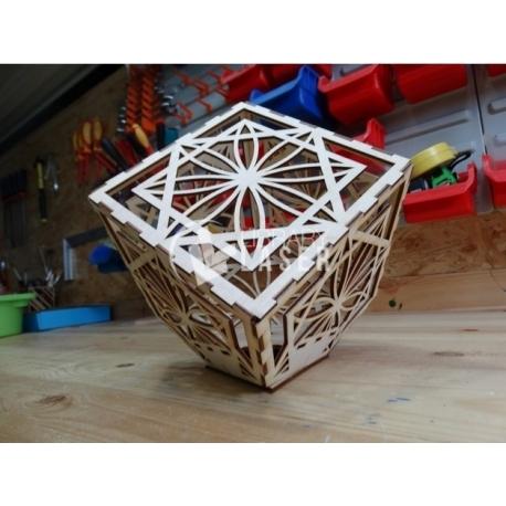 Cube lamp design