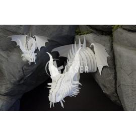 Cabeza de dragón diseño