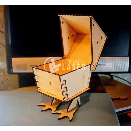 Caja pato diseño