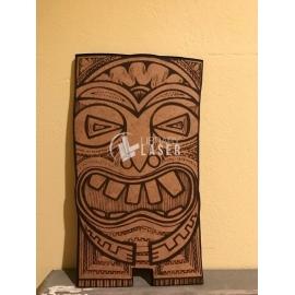 Tiki mask design