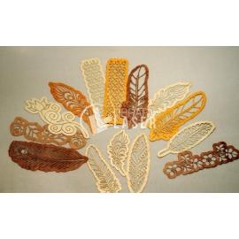 Plumas y hojas diseño