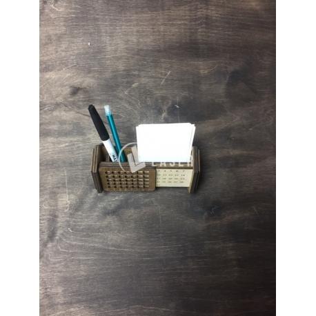 Porta lápiz calendario diseño