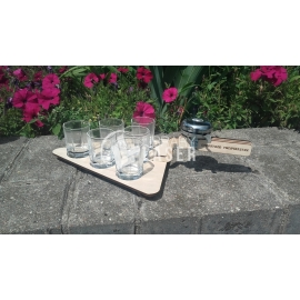 Glasses tray design