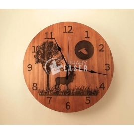 Reindeer clock design