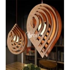Lámpara gota diseño