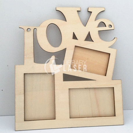 Love portrait design