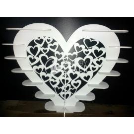 Heart stand design
