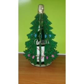 Árbol botella diseño