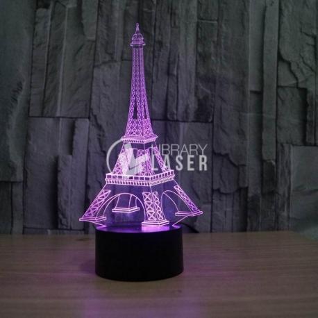 Eiffel Tower Engraving design