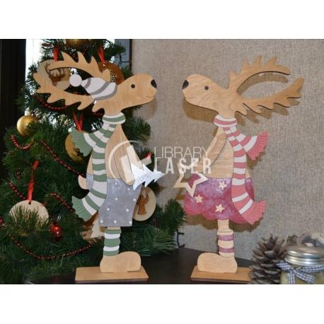 Christmas reindeer design