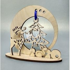 Christmas souvenir diseño