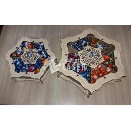Caja de dulces diseño