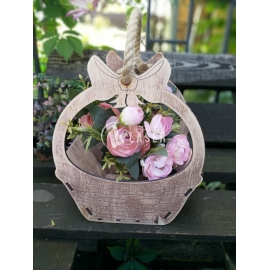 Flower basket design