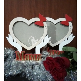 Heart for mother's day design