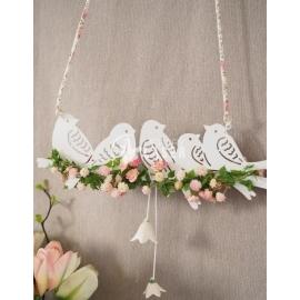 Pájaros para flores diseño