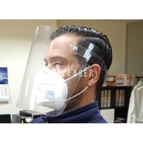 Mascara antifluidos diseño