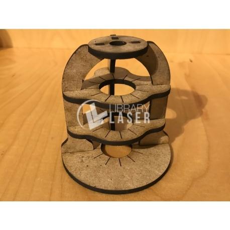Laser meter design