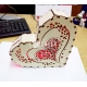 Piggy bank heart design